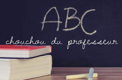 chouchou du prof
