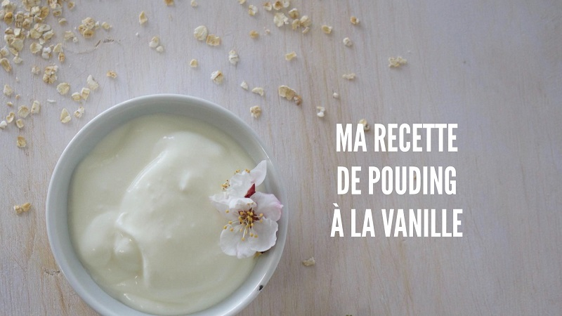 pouding vanille
